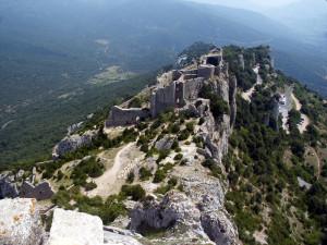 Château de Peyrepertuse.
