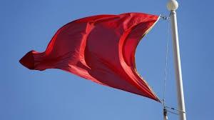 drapeau rouge