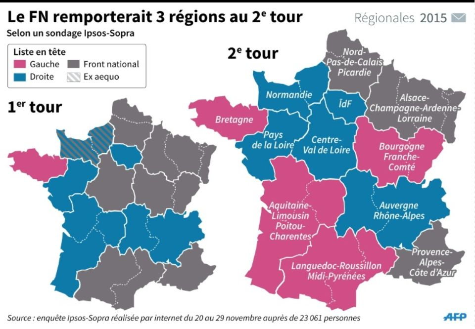 832531-carte-repartissant-les-intentions-de-vote-d-apres-un-sondage-au-1er-et-2eme-tours-par-region