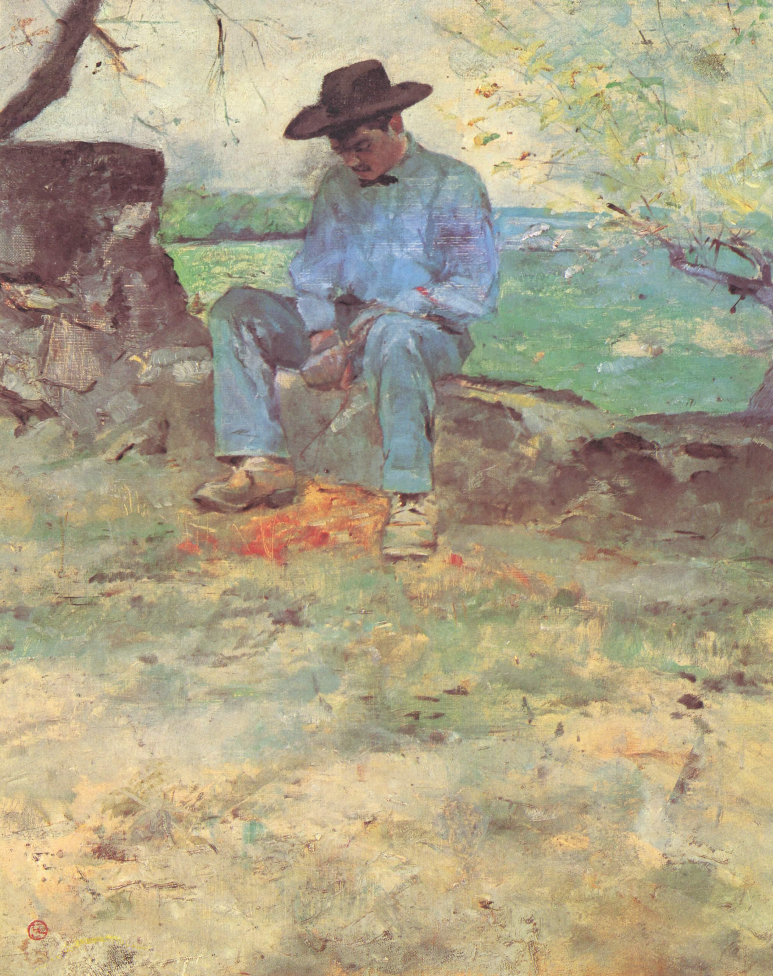 Henri de Toulouse Lautrec-le-jeune Routy-a-Celeyran